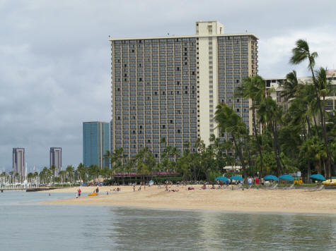 Fort De Russy Beach in Waikiki