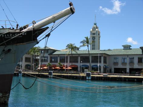 Honolulu Harbor  Cruise Ship Terminal
