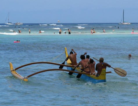 Outrigger Canoeing in Waikiki